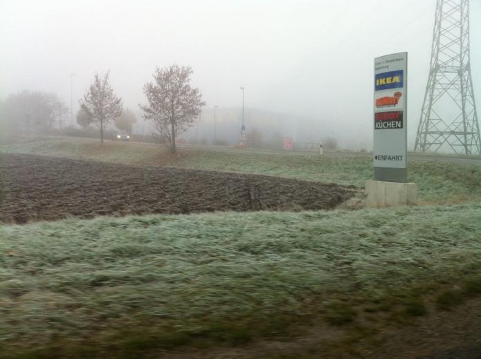 Ikea In The Mist