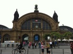 This is the main Frankfurt Bahnhof.  It's enormous inside.