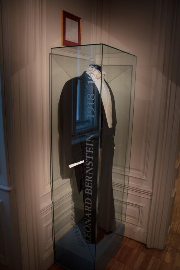 Leonard Bernstein's tux in the very cool Haus Der Musik.