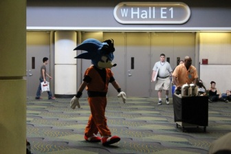 It's totally Sonic!