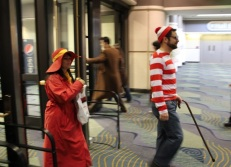 Waldo and Carmen Sandiego travel together? (And Ten in the back...)