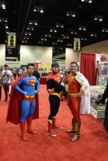 Superman, Superman X, and Captain Marvel
