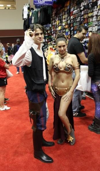 A really good Han and Leia