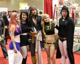 Teen Titans, plus Jack Sparrow