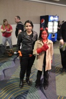 Hellgirl and a BPRD operative