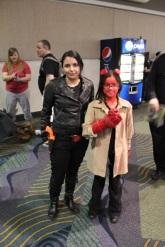 Hellgirl and a BPRD operative