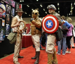 Indy, Rocketeer, and Captain