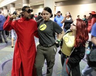 Doctor Horrible, Captain Hammer, and a Hammerfan