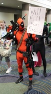 Deadpool wants tacos.