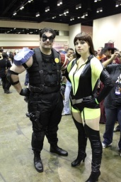 The Comedian and Silk Spectre