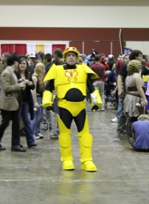 A Monarch Henchman from Venture Brothers