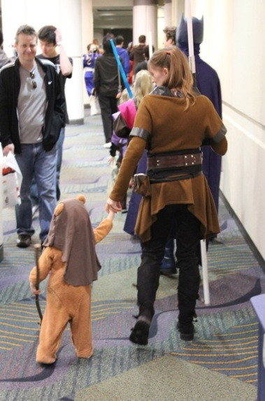 Cutest Ewok ever.