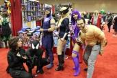 Various Marvel heroes