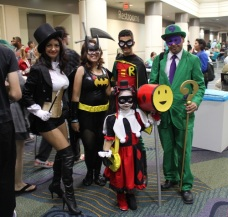 Various DC heroes and villains