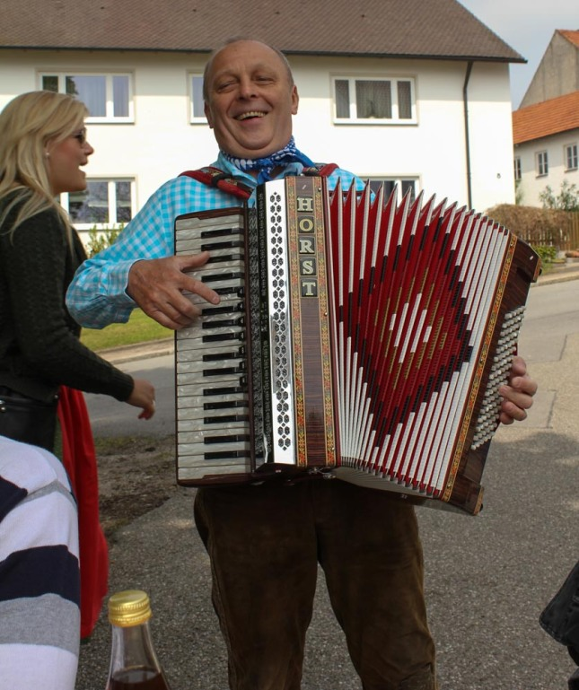 In Bavaria, accordions are cool.