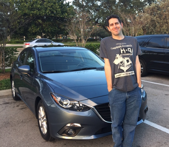 I Drove A 2004 Mazda 3 Today For The First Time I Drove: Sunshine. Whimsy. Tacos