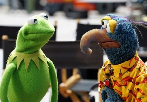 "THE MUPPETS - ""The Muppets"" return to prime time with a contemporary, documentary-style show that, for the first time ever, will explore the Muppets' personal lives and relationships, both at home and at work, as well as romances, break-ups, achievements, disappointments, wants and desires; a more adult Muppet show, for kids of all ages.  (ABC/Eric McCandless) KERMIT THE FROG, GONZO THE GREAT"