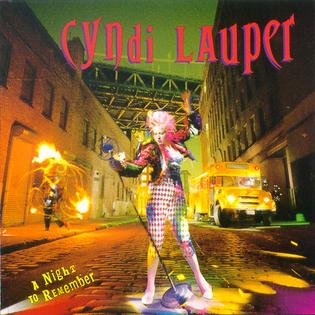 Cyndi Lauper - A Night To Remember album cover