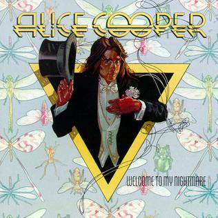 Alice Cooper - Welcome To My Nightmare album cover